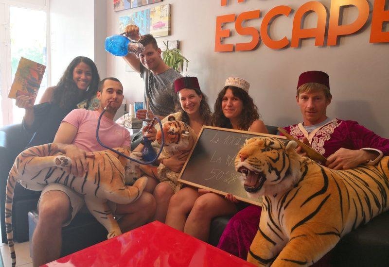 Active escape – 1002 ème nuit
