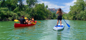 activity kayak paddle Argens Roquebrune