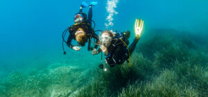 activity diving french riviera