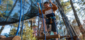 activity - adventure parc in Montauroux