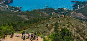 activity - electric MTB bike in the Esterel