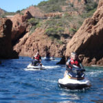 Guided jet ski tour in Cap Esterel 1h30