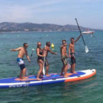 Giant Stand Up Paddle rental - WGP base El Moritto - ECA