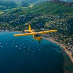 ULA Flight - Coastline flight - Fréjus