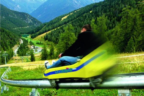 Summer sled of La Colmiane