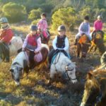 Pony riding training course - 6 to 10 years old - Fondurane Reserve