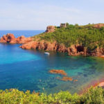 Sea kayaking excursion along the Esterel coast