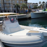 Semi-rigid boat rental CAPELLI TEMPEST 850 (8 people)