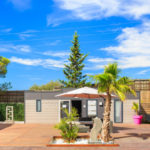 spa entrance – holiday green fréjus