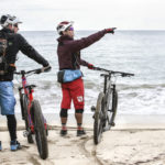 Electric assisted mountain bike ride