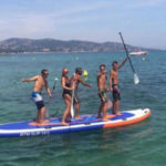Giant Stand Up Paddle rental - WGP base of Pampelonne ECA