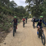 Electric mountain biking and kayaking for the half-day
