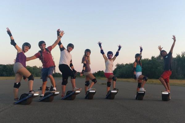 Electric-skate-OneWheel-initiation