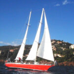 Seaside sailboat outing - La Brigante