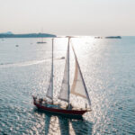 Sunset outing on sail boat - Port Fréjus
