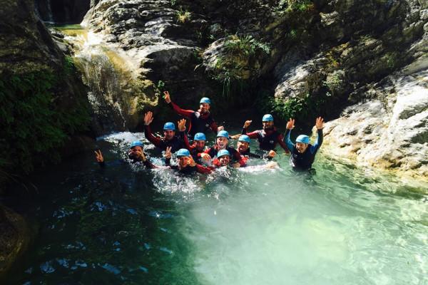 Azur Canyoning – Gorges du Loup