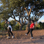 Nordic walking differently