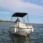 Boat rental - Quicksilver Activ 555 Open - Agay