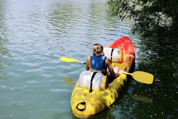 Rental kayak 1 seat - Argens River - PROMO