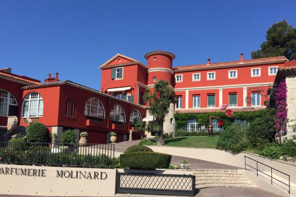 The perfumer's villa Grasse