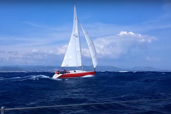 "Sailing boat "" Jod 35 Geronimo "" - Saint Raphael"