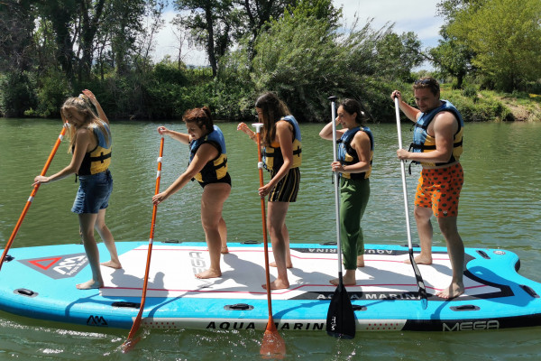 Giant paddle rental - Argens river