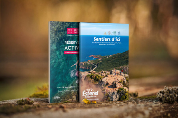 Sentiers d'ici : hike, bike and mountain biking trails in the Esterel