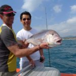 Coastal & familial fishing trip by boat