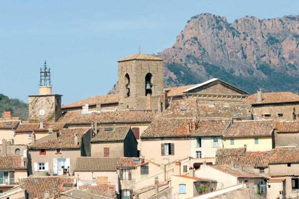 Village médiéval de Roquebrune-sur-argens