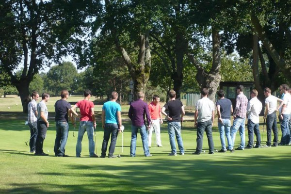 Golf Blue Green Académie de l'Estérel – stage d'initiation