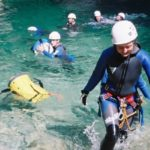 Canyoning for beginners - Gorges du Loup