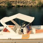 Rigid-hulled inflatable BAT boat rental