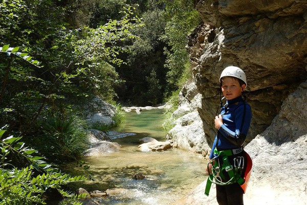 ruisseau d'audin – canyoning familial