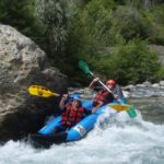 Canoe kayak raft - Roya Valley