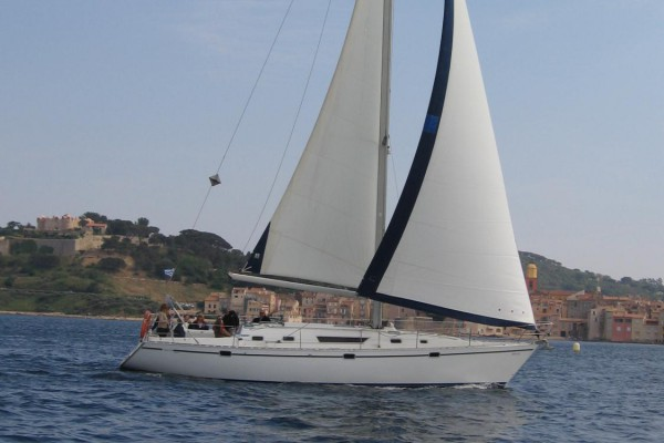 Sunset sailboat outing – Les Issambres