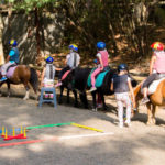 Horse riding: The baby riders
