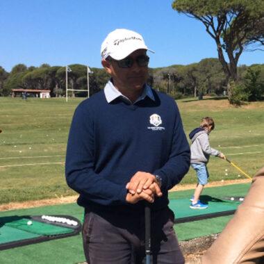 Christophe, moniteur stage de Golf