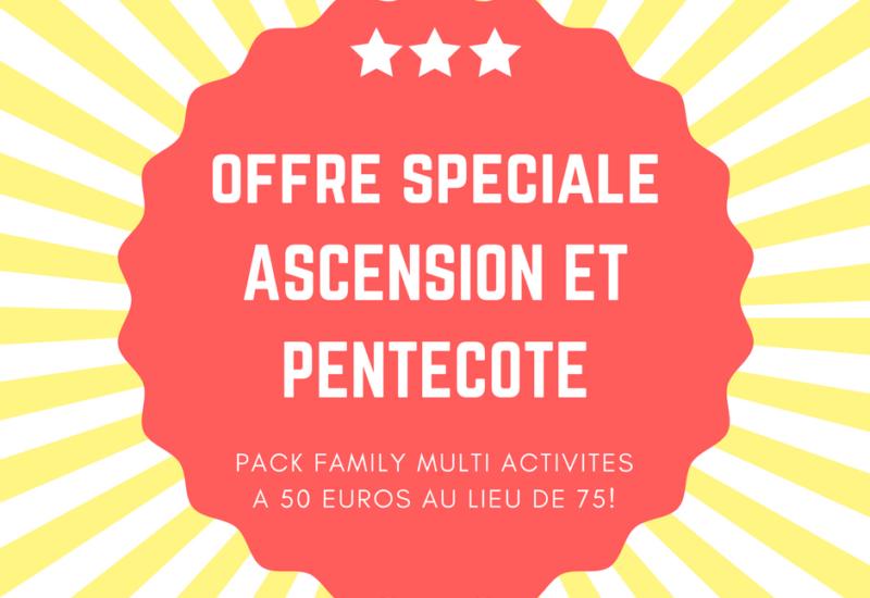 Offre spéciale WGP Pentecote