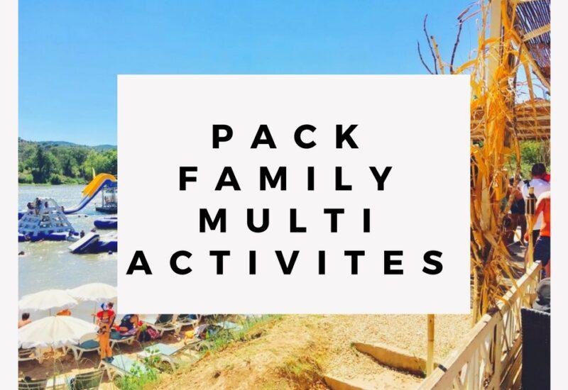 Pack Family Multi Activité