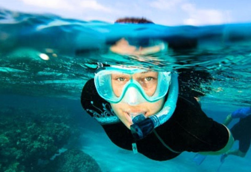Activité rando palmée – Aquatic rando