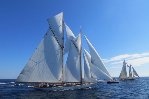 Voiles de Saint-Tropez avec Côté Mer