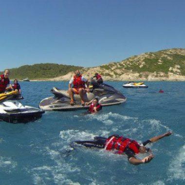 Randonnée accompagnée en Jet ski – Cap Taillat 4 h