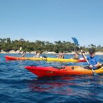 Excursion en kayak de mer  - îles de Lérins - Cannes