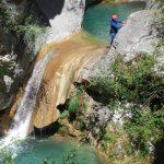 Canyoning sportif - Vallée de la Roya
