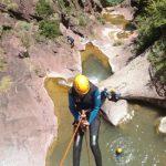 Canyoning niveau 3 - Bes de Courmes + Gorges du Loup
