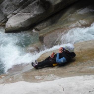Canyoning la clue de Saint Auban, 1/2 journée (+ 14 ans)
