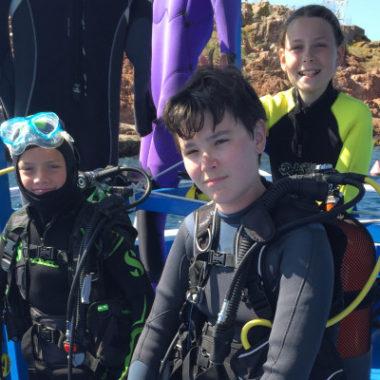 Forfait 5 Plongées Enfant 8-14 ans (plongeur certifié)