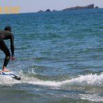 Session de surf électrique en mer - Fréjus