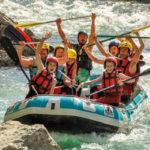 Rafting parcours 2h30 Accessible à partir de 10 ans