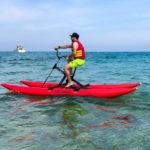 Location de vélos d'eau - Plage Veillat Saint Raphael